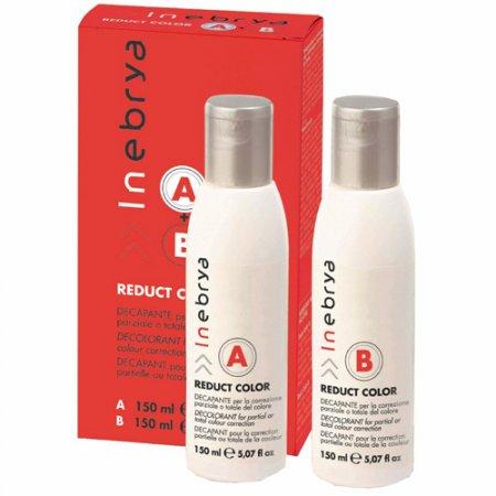 Inebrya Reduct Color, reduktor koloru do dekoloryzacji włosów, 150ml+150ml
