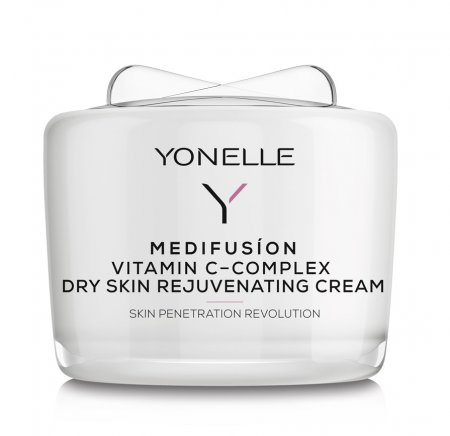 Yonelle Medifusion, krem z witaminą C-Complex, cera sucha, 55ml