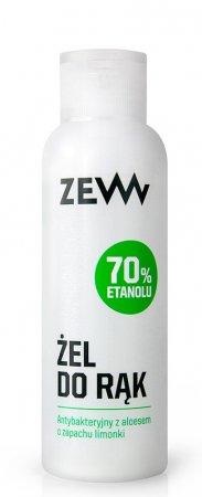 ZEW for Men, antybakteryjny żel do rąk 70% z aloesem, 100ml