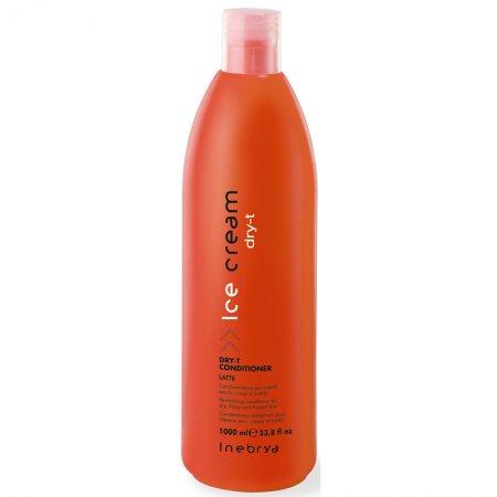 Inebrya Dry-T, odżywka nawilżająca do włosów suchych i zniszczonych, 1000ml
