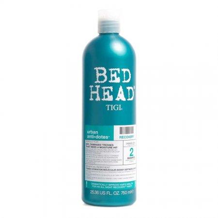 Tigi Bed Head Urban Anti+Dotes Recovery, szampon nawilżający do włosów zniszczonych, 750ml