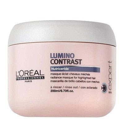 Loreal Lumino Contrast, maska rozświetlająca do włosów z pasemkami, 200ml