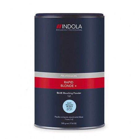 Indola Rapid Blond+, rozjaśniacz, niebieski, 450g