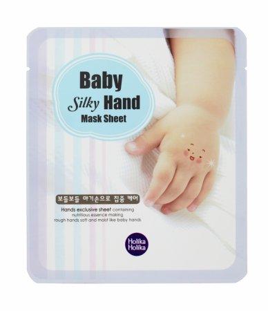 Holika Holika Silky Hand, regenerująca maseczka do dłoni
