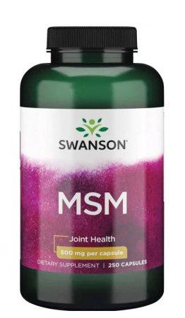 Swanson, MSM, 250 kapsułek