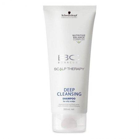 Schwarzkopf BC Scalp Therapy, szampon głęboko oczyszczający, 200ml