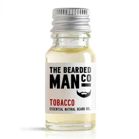 Bearded Man Tobacco, olejek do brody Tytoń, 10ml