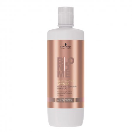 Schwarzkopf Blond Me Detox, detoksykujący szampon wzmacniający wiązania, 1000ml