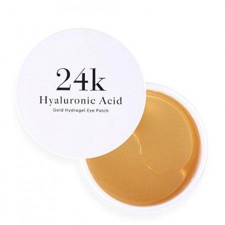 Skin79 Gold Hydrogel, płatki pod oczy z kwasem hialuronowym, 90g/60 sztuk