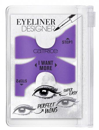 Catrice Eyeliner Designer, szablon do eyelinera, 1szt.