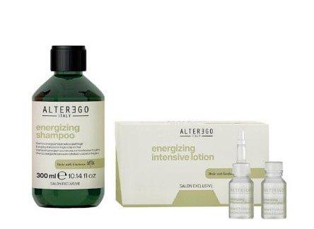 Alter Ego Scalp Ritual, zestaw intensywnie wzmacniający, szampon 300ml + lotion 12x10ml