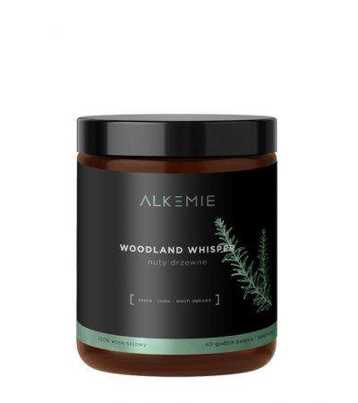 Alkmie, świeca sojowa, Woodland Whisper, 180ml