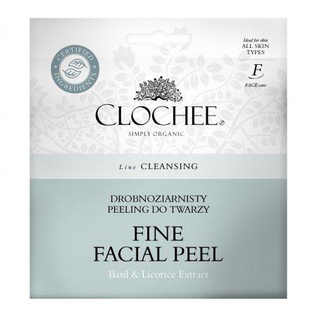 Clochee, drobnoziarnisty peeling do twarzy, 2x6ml