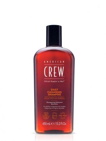 American Crew Daily Cleansing, szampon głęboko oczyszczający, 450ml