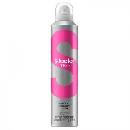 Tigi S-Factor Vivacious Hairspray, spray do układania włosów, 300ml
