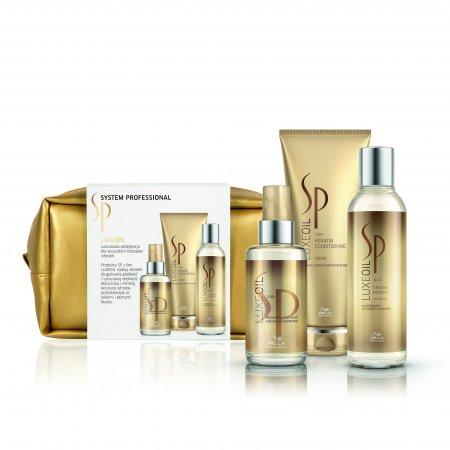 Wella SP Luxe Oil, zestaw kosmetyków odbudowujący włosy