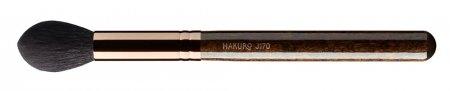 Hakuro J170, pędzel do konturowania, różu, bronzera i rozświetlacza, ciemnobrązowy