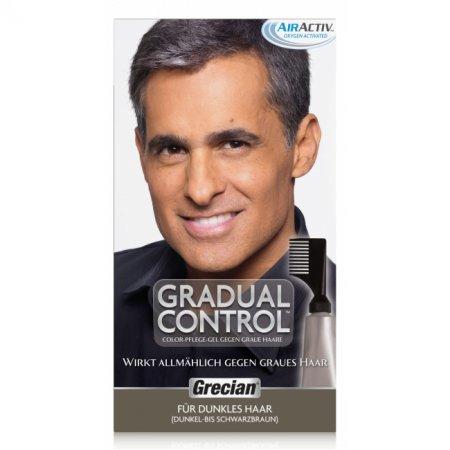 Grecian Gradual Control, żel koloryzujący likwidujący siwe włosy, 40ml
