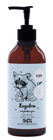 Yope, łagodne antybakteryjne mydło, Herbata, 400ml
