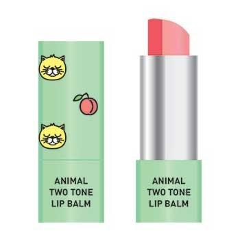 Skin79 Animal Two-Tone Lip Balm, balsam do ust w sztyfcie, Peach Cat, 3,8g