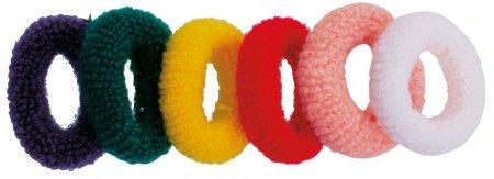 Efalock gumki frotte, kolorowe, 6 szt.