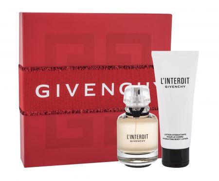 Givenchy L´Interdit, zestaw: EDP 50 ml + Mleczko do ciała 75 ml (W)
