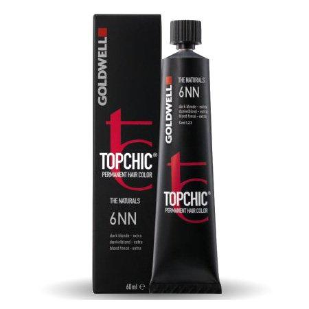 Farba do włosów Goldwell Topchic, 7NN, średni blond extra, 60ml - uszkodzone opakowanie