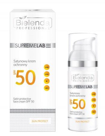 Bielenda Professional Supremelab Sun Protect, satynowy krem ochronny SPF50, 50ml