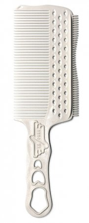 Y.S. Park, grzebień do strzyżenia męskich włosów, model s282RT, biały