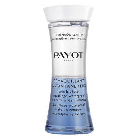 Payot Demaquillantes, dwufazowy płyn do demakijażu z ekstraktem z maliny, 125ml