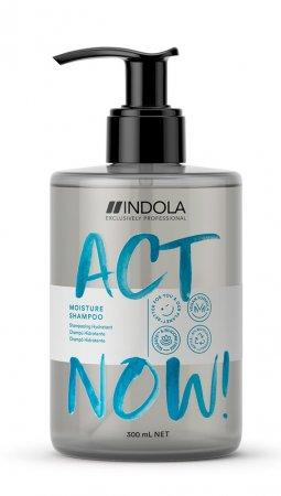 Indola Act Now!, wegański szampon nawilżający, 300ml