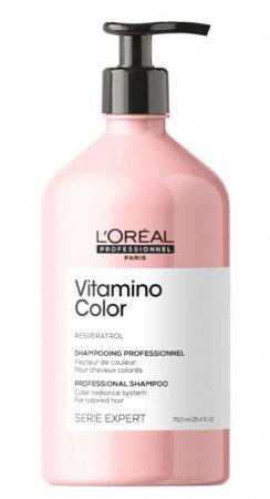 Loreal Vitamino Color, szampon do włosów farbowanych, 750ml