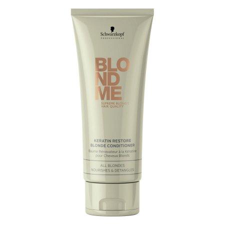 Schwarzkopf BlondMe, odżywka keratynowa do wszystkich rodzajów włosów blond, 200ml