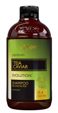 Three Therapy Teia Caviar, odbudowujący szampon po nanoplastii, 1000g