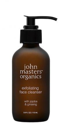 John Masters Organics, peeling do twarzy, Jojoba i Żeń-szeń, 107ml