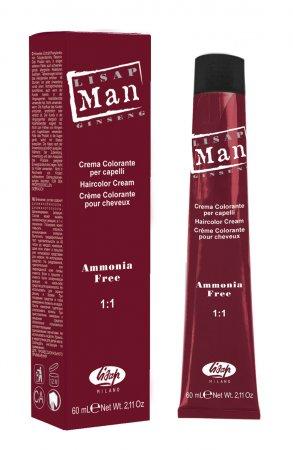 Odsiwiacz dla mężczyzn Lisap Man, 0.18 Świetlisty Srebrny, 60ml - uszkodzone opakowanie