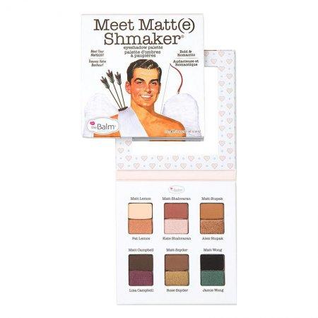 The Balm Meet Matt(e) Shmaker, paleta cieni do powiek