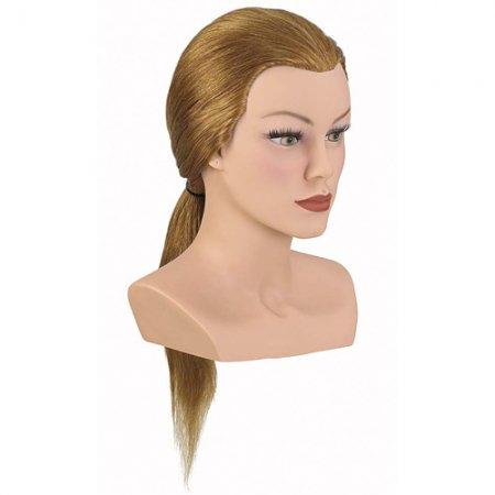 Bergmann główka treningowa Competition Medium, blond, 100% naturalne włosy, 40-45cm, ref. 091034