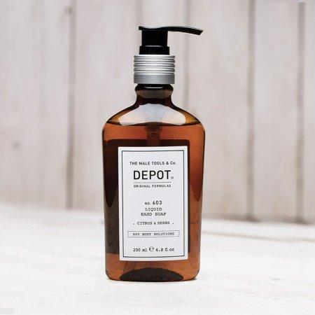 Depot No. 603, mydło w płynie, Citrus & Herbs, 200ml