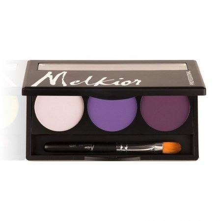 Melkior, paleta matowych cieni do powiek, Royal Purples