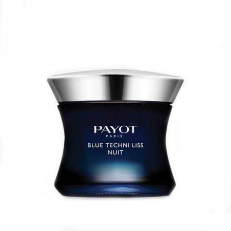 Payot Blue Techni Liss, chrono-aktywny krem wygładzający na noc, 50ml