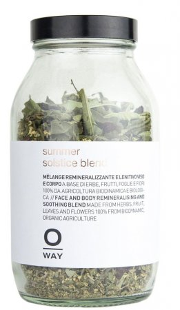 OWay Beauty Summer Solstice Blend, mieszanka remineralizująco-łagodząca do twarzy i ciała, 45g