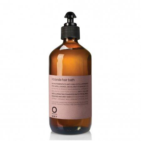 OWay Hblonde, rozświetlająca kąpiel, szampon do włosów blond, 240ml