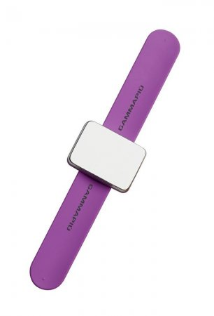 Gamma Piu, magnetyczna bransoletka na wsuwki Magic Bangle, fioletowa