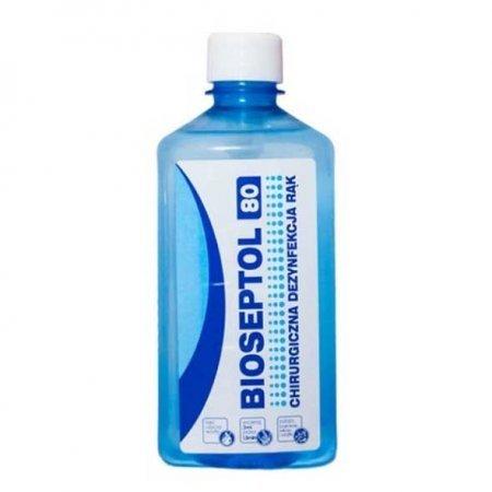 Bioseptol 80, płyn do dezynfekcji, bez pompki, 500ml