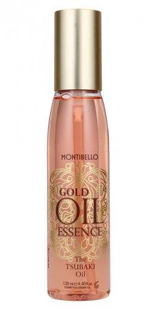 Montibello Gold Oil Essence, olejek tsubaki do włosów, Tsubaki Oil, 130 ml