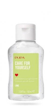 Pupa Care for yourself, żel antybakteryjny, limonka, 73% alkoholu, 100ml