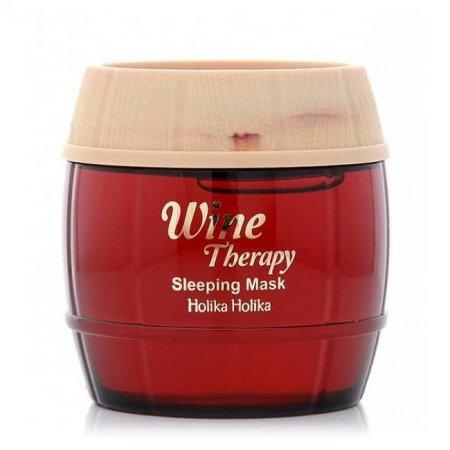Holika Holika Wine Therapy, maseczka całonocna z czerwonym winem, 120ml