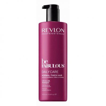 Revlon Be Fabulous, szampon oczyszczający do włosów normalnych/grubych, 1000ml