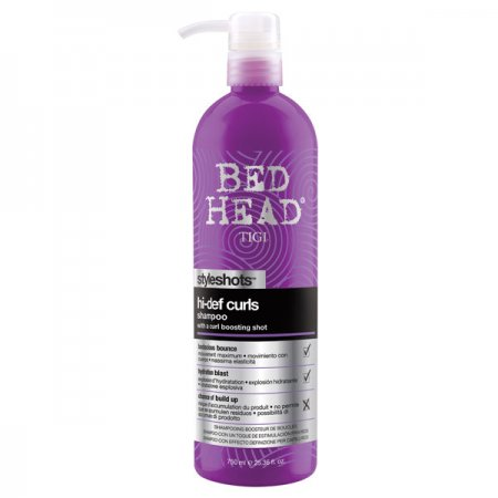 Tigi Bed Head Styleshots Hi-Def Curls, szampon do loków wspomagający skręt, 750 ml